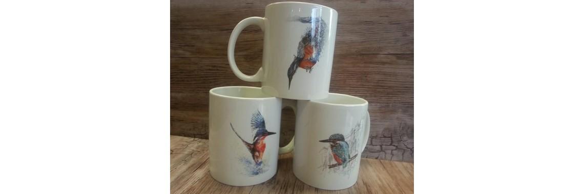 Kingfisher mugs
