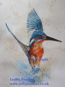 Kingfisher rising copyright