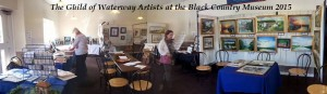 Guild of Waterway Artists at the Black Country Museum 2015