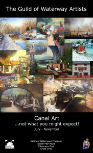 Canal Art... Not what you might expect!